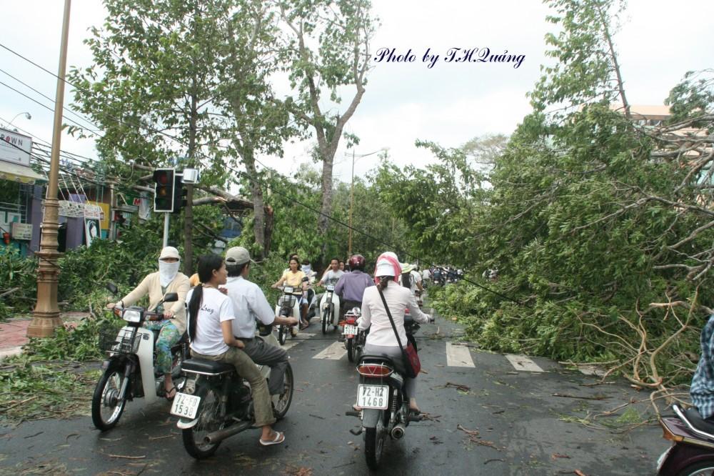 Bão Durian tàn phá thành phố Vũng Tàu